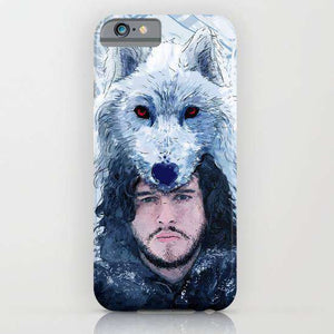 Jon Snow Game Of Thrones Printed Cell Cover - Cell Cover