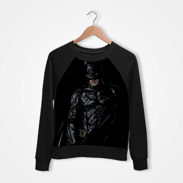 Batman - Digital Printed Sweat Shirt