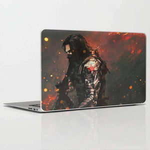 Laptop Skin Winter Soldier