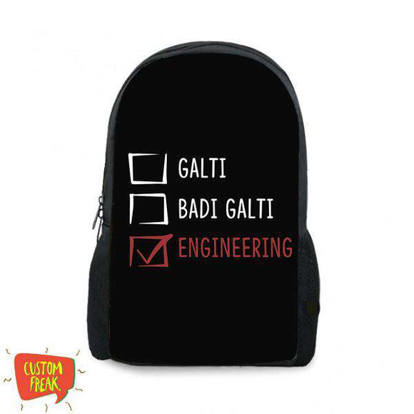 Ghalti Bari Ghalti Engineering - Backpack
