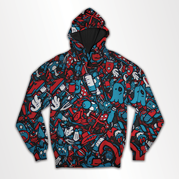 Doodle- All Over Hoodie & Sweatshirt
