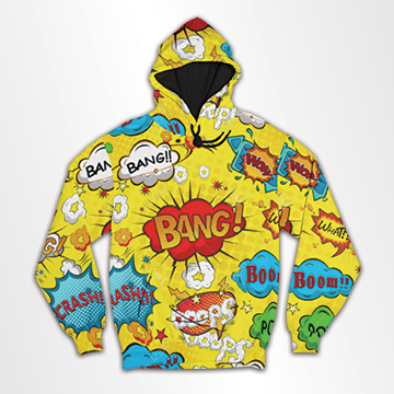 Comic - All Over Hoodie & Sweatshirt