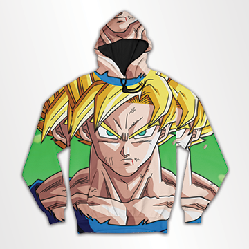 Goku - All Over Hoodie & Sweatshirt