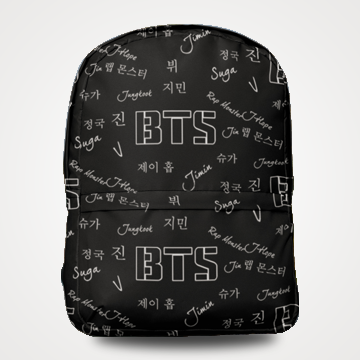 BTS - Allover Printed Backpack