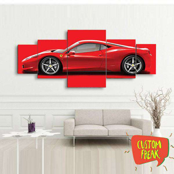 Ferrari - Set Of 5 - Wall Hangings