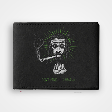 Dont Panic Its Organic - Graphic Printed Wallets