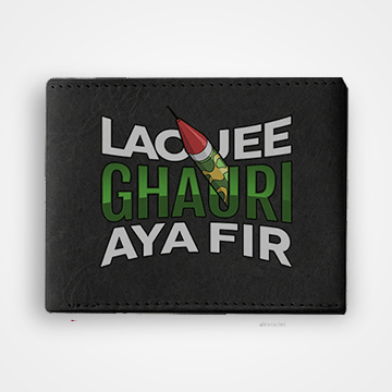 Lao Jee Ghauri Aya Fir - Graphic Printed Wallets