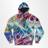 Colored Splashes - All Over Hoodie & Sweatshirt