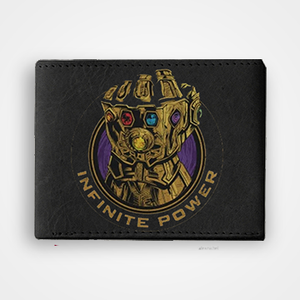 Thanos Infinite Power - Graphic Printed Wallets