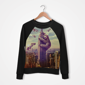Empire State Building - Digital Printed Sweat Shirt