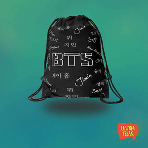 Drawstring Bag Bts