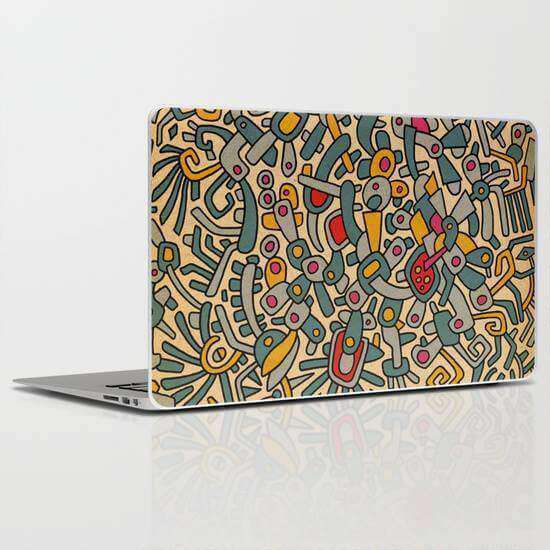 Laptop Skin Pattern