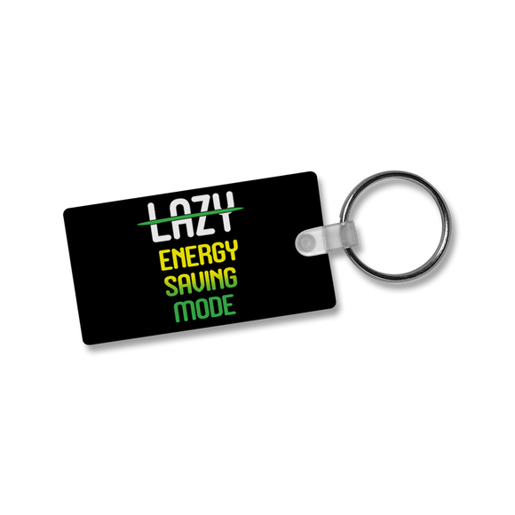 Lazy Energy Saving Mode - Keychain