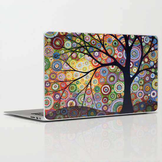 Laptop Skin Tree Abstract