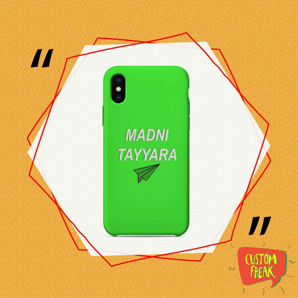 Madni Tayyara - Cell Cover - Cell Cover