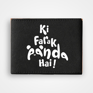 Ki Farak Panda Hai - Graphic Printed Wallets