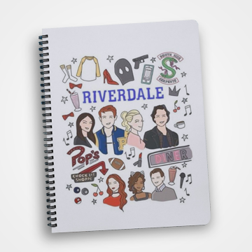 Riverdale Collage - Notebook