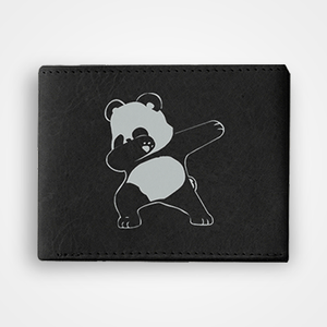 Panda Dab - Graphic Printed Wallets