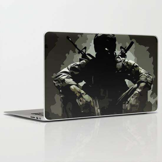 Laptop Skin Call Of Duty