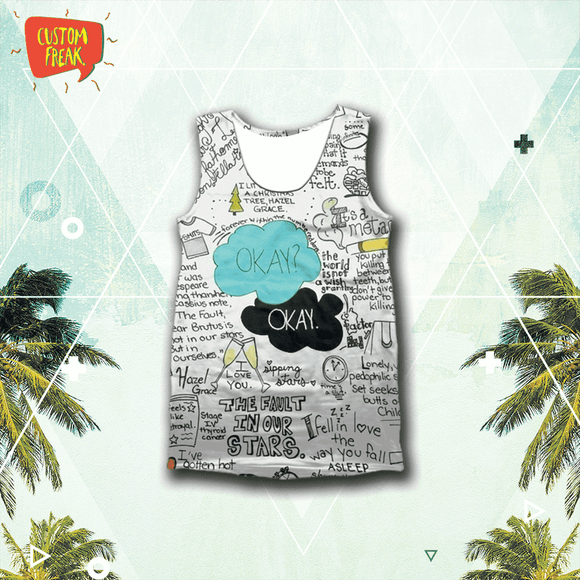 Okay Okay - Fault In Our Stars - Tank Tops