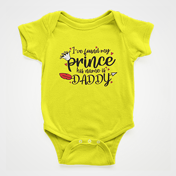 I've Found My Princess - Baby Romper