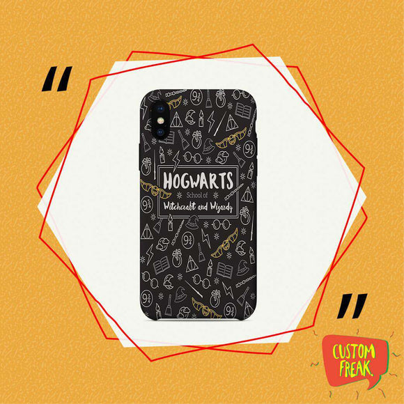 Hogwarts Patter - Harry Potter - Cell Cover - Cell Cover