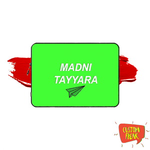 Madni Tayyara - Laptop & Tablet Sleeve