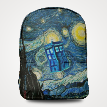Doctor Who Tardis - Allover Printed Backpack