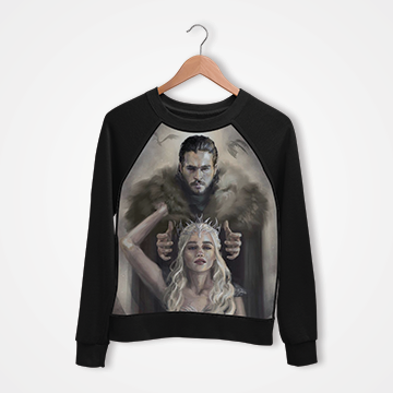 Game Of Thrones - Digital Printed Sweat Shirt