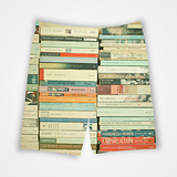Books Pattern - All Over Printed Shorts