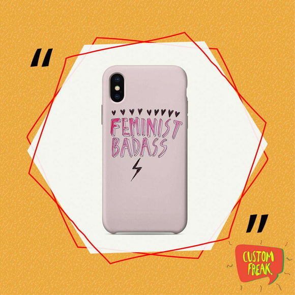 Feminist Badass - Cell Cover - Cell Cover