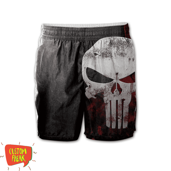 Punisher - All Over Printed Shorts