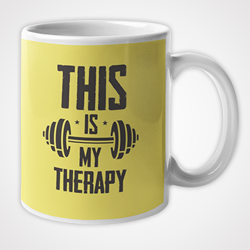 SALE - This Is My Therapy  - Mug