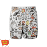 Harry Potter Pattern - All Over Printed Shorts