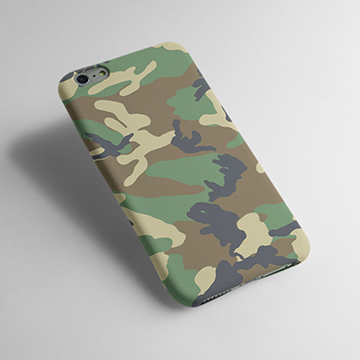 Camouflage Pattern - Cell Cover