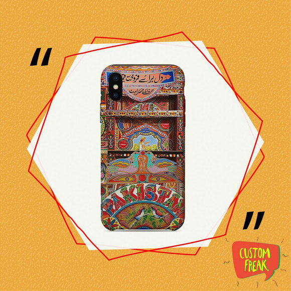 Truck Art - Cell Cover - Cell Cover