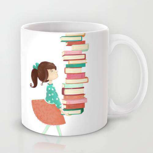 So Many Books - Mug