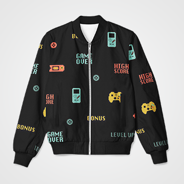 Gaming Console   - Bomber Jacket