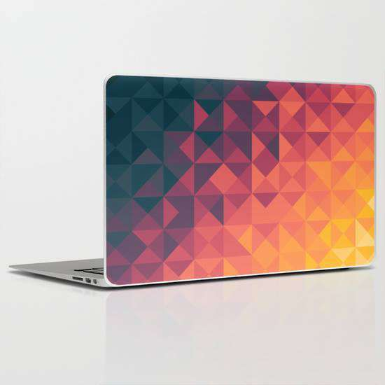 Laptop Skin Fading Pattern
