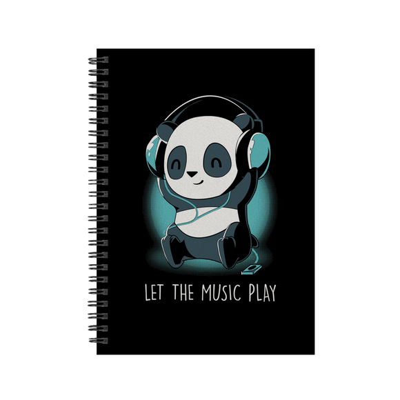 Let The Music Play - Notebook