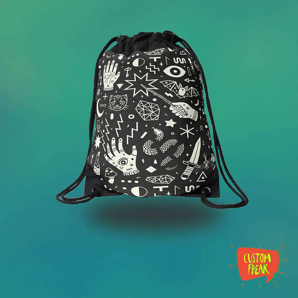 Drawstring Bag Witchcraft