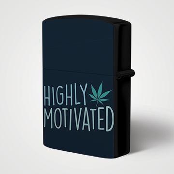 Highly Motivated - Weed- Lighter