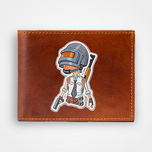 PUBG Guy - Graphic Printed Wallets