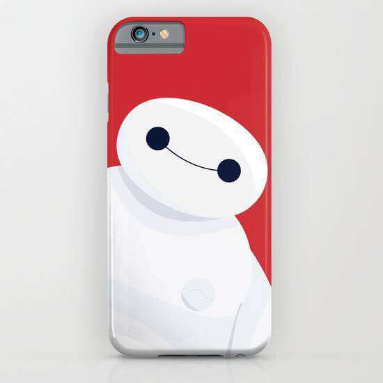 Big Hero 6 Printed Cell Cover - Cell Cover