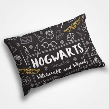 Hogwarts - Harry Potter - Pillow Cover