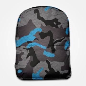 SALE - Camouflage  - Allover Printed Backpack