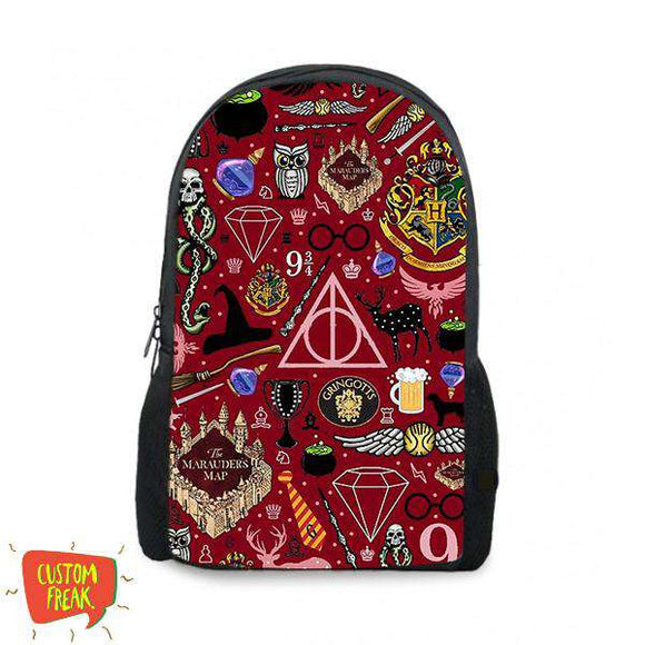 Harry Potter Pattern - Backpack