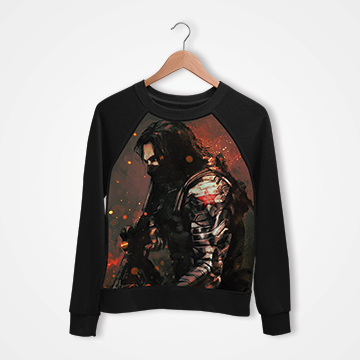 Winter Soldier - Digital Printed Sweat Shirt