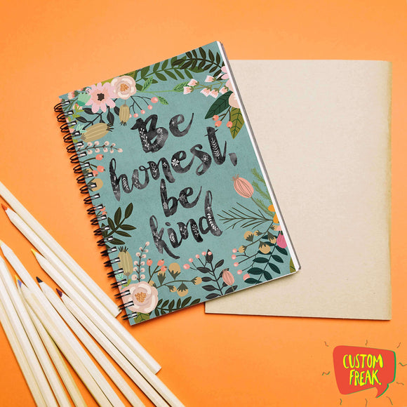 Be Honest Be Kind - Notebook