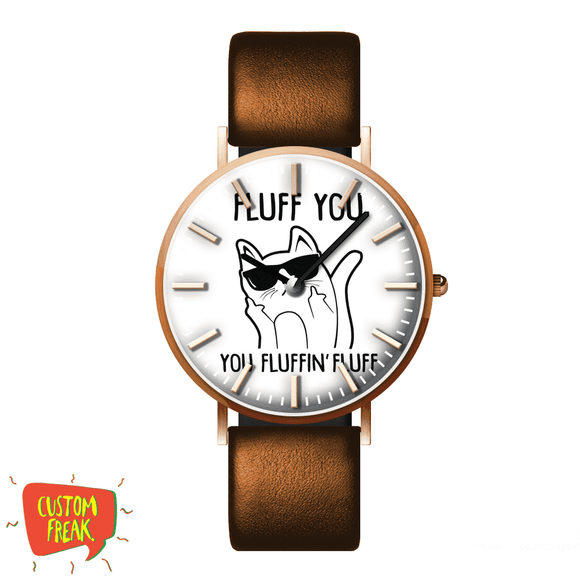 Fluff You - Wrist Watch